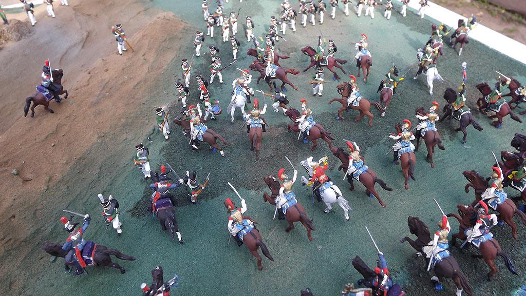 Диорамы и виньетки: Селенгинский пехотный полк в Бородинском сражении, фото #19