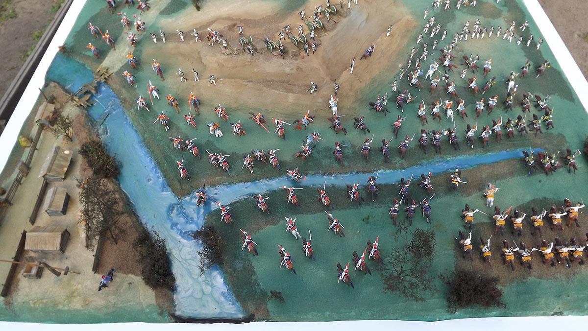Диорамы и виньетки: Селенгинский пехотный полк в Бородинском сражении, фото #2
