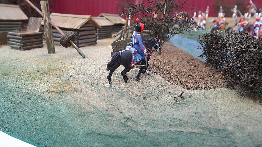 Диорамы и виньетки: Селенгинский пехотный полк в Бородинском сражении, фото #22