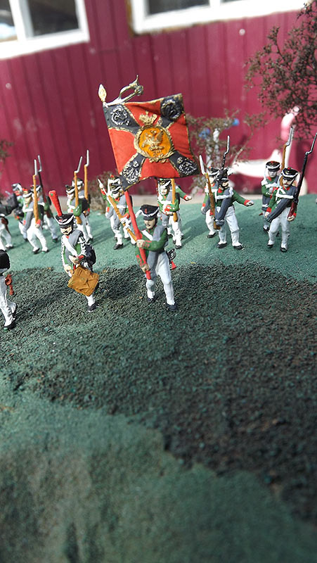 Диорамы и виньетки: Селенгинский пехотный полк в Бородинском сражении, фото #23