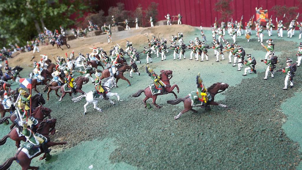 Диорамы и виньетки: Селенгинский пехотный полк в Бородинском сражении, фото #3