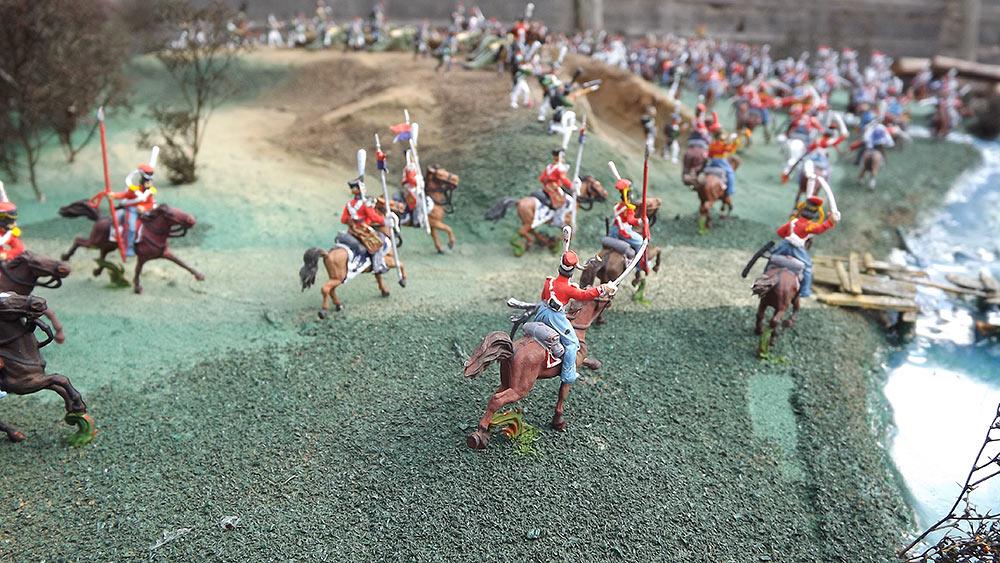 Диорамы и виньетки: Селенгинский пехотный полк в Бородинском сражении, фото #4