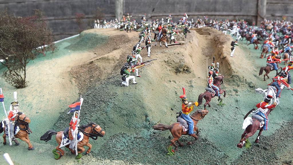 Диорамы и виньетки: Селенгинский пехотный полк в Бородинском сражении, фото #5