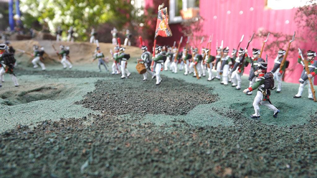Диорамы и виньетки: Селенгинский пехотный полк в Бородинском сражении, фото #6