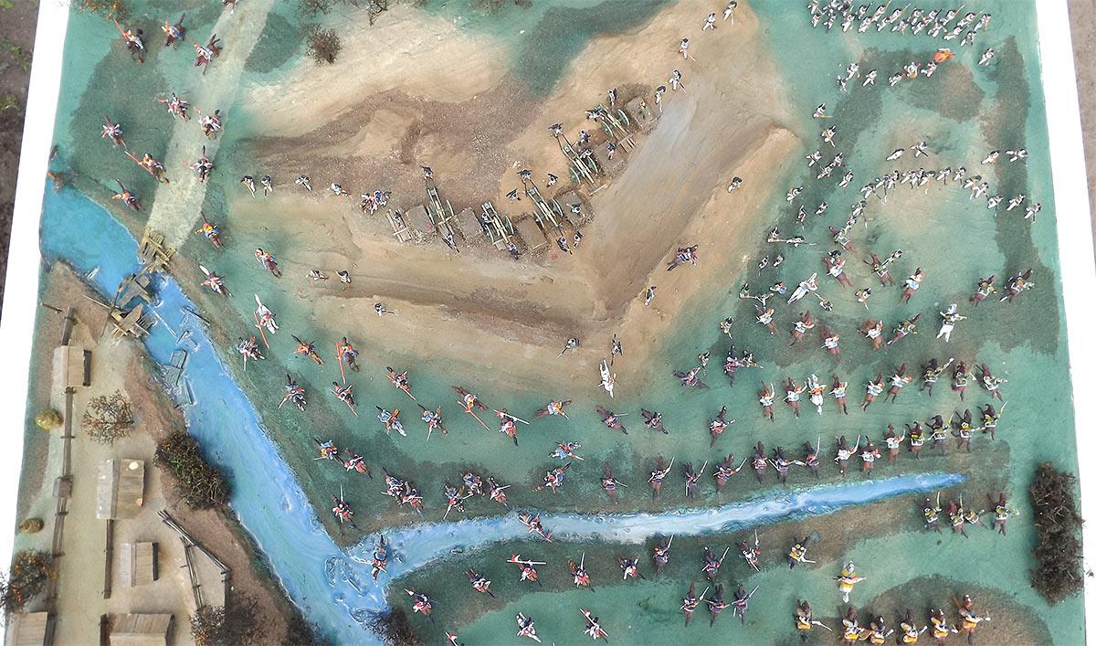 Диорамы и виньетки: Селенгинский пехотный полк в Бородинском сражении, фото #9