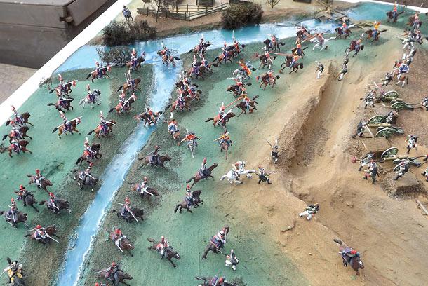 Диорамы и виньетки: Селенгинский пехотный полк в Бородинском сражении