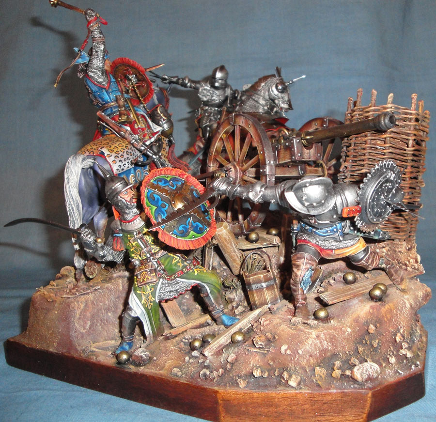 Диорамы и виньетки: Битва под Гаммедом, 1501г. , фото #1