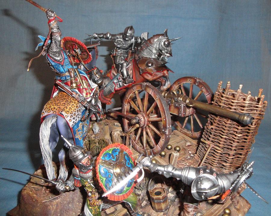 Диорамы и виньетки: Битва под Гаммедом, 1501г. , фото #2
