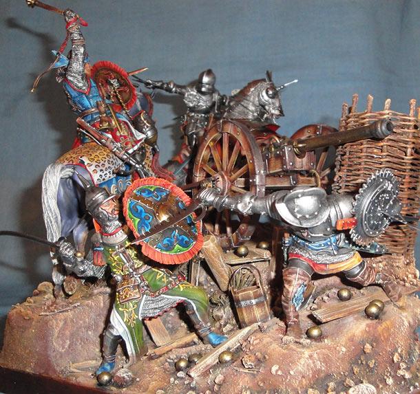 Диорамы и виньетки: Битва под Гаммедом, 1501г.