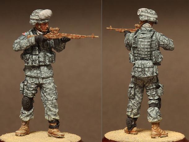 Фигурки: Американский снайпер с М14