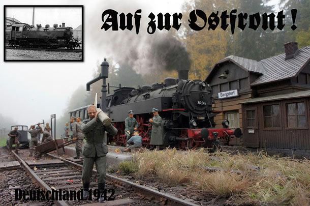 Диорамы и виньетки: На восточный фронт! Германия, 1942г.