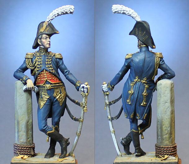 Фигурки: Командир батальона моряков Императорской Гвардии. Франция, 1809-14 гг.