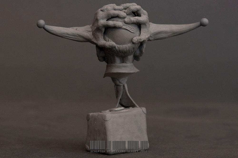 Скульптура: Старик Козлодоеff, фото #11