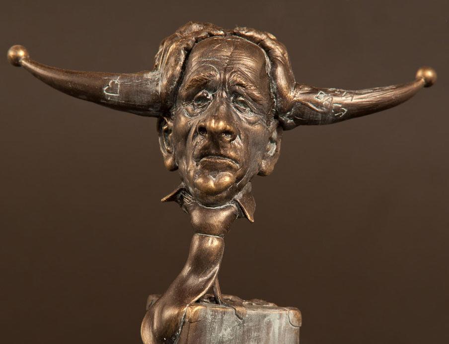 Скульптура: Старик Козлодоеff