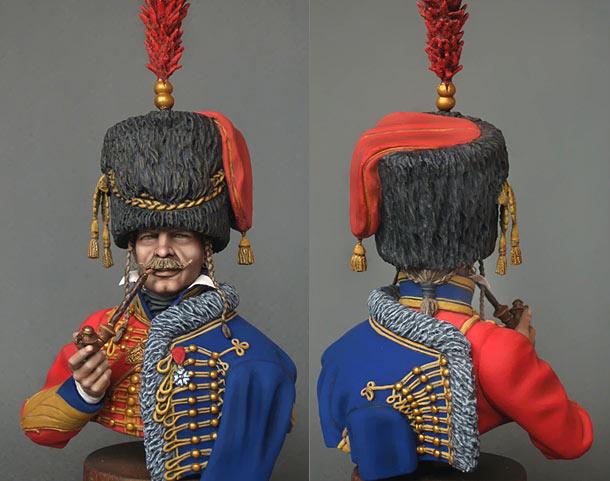Фигурки: Капитан 6-го гусарского полка, 1812