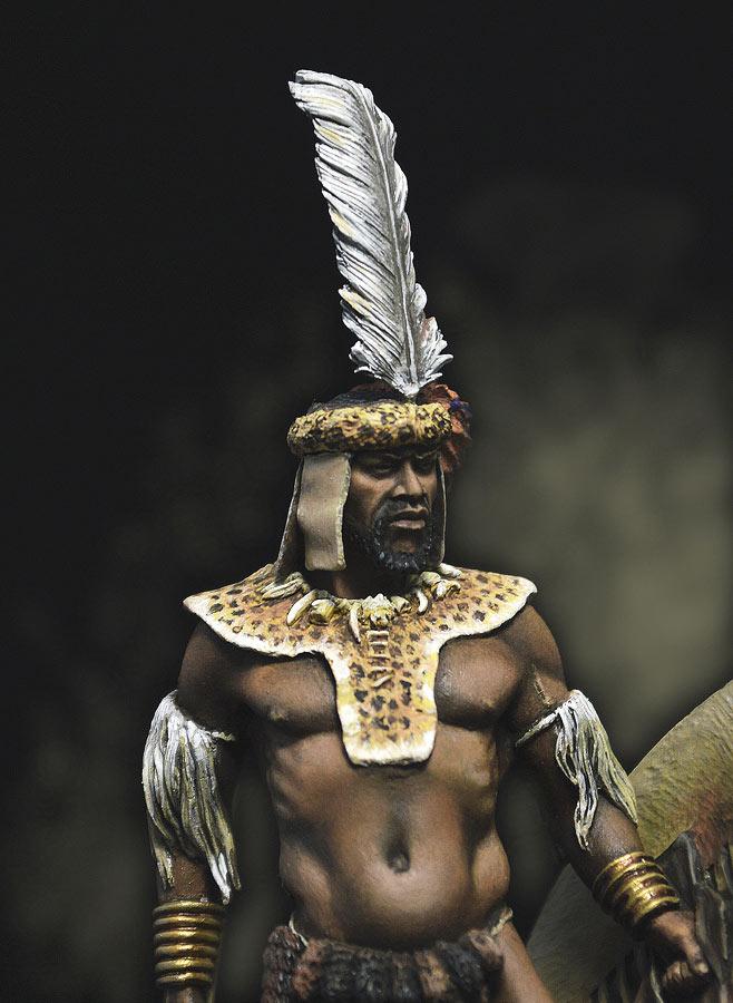 Фигурки: Воин-зулус, 1879 г., фото #2
