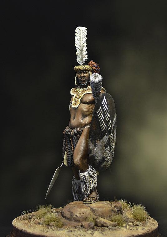 Фигурки: Воин-зулус, 1879 г., фото #5