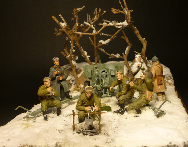 Учебка: Черкасский котел, февраль 1944