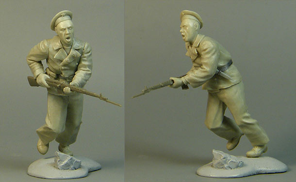 Скульптура: Надеть бескозырки! Примкнуть штыки!