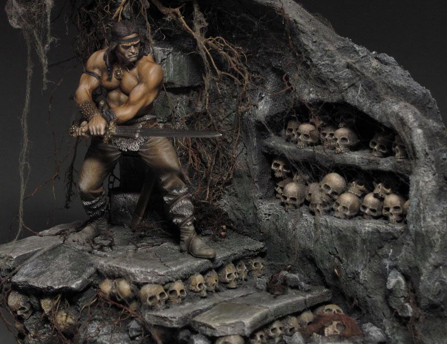 Диорамы и виньетки: Подземелье черепов, фото #10