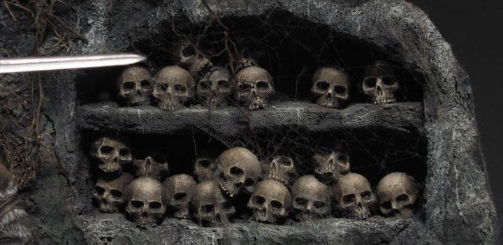 Диорамы и виньетки: Подземелье черепов, фото #5