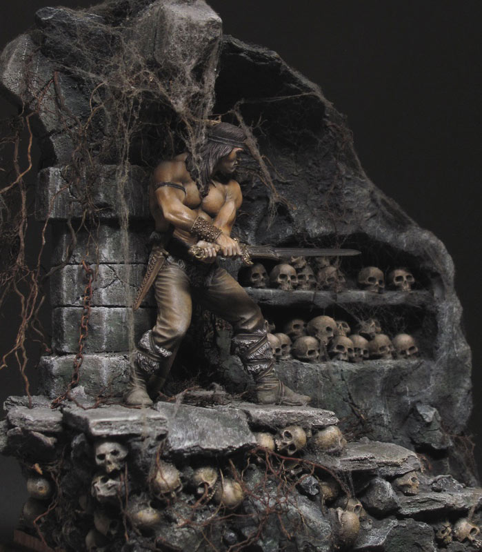 Диорамы и виньетки: Подземелье черепов, фото #6
