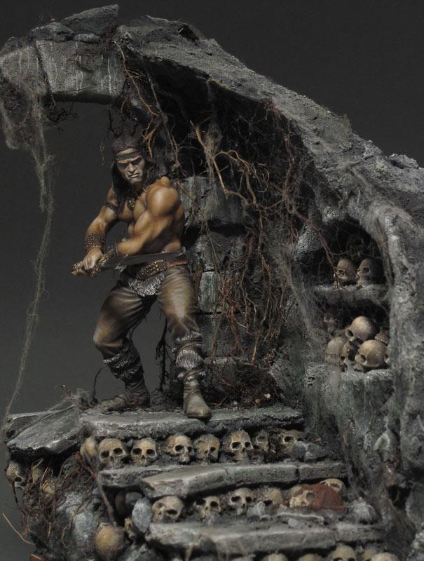 Диорамы и виньетки: Подземелье черепов, фото #9