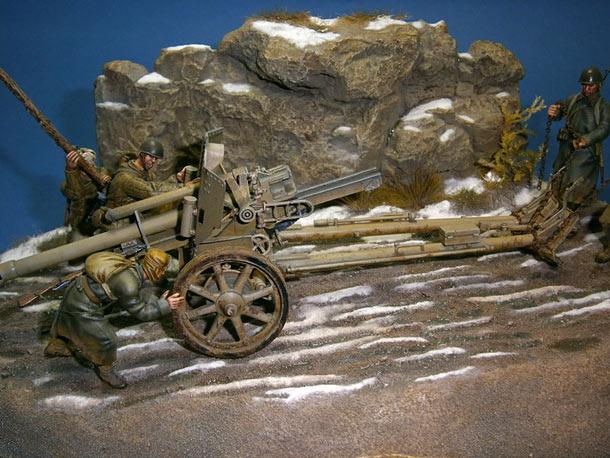 Диорамы и виньетки: Bоенный трофей. Восточный фронт, 1943