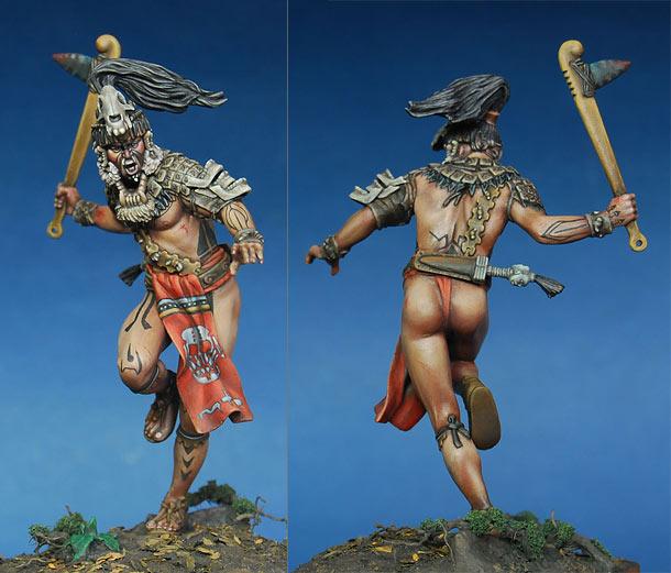 Фигурки: Военачальник майя