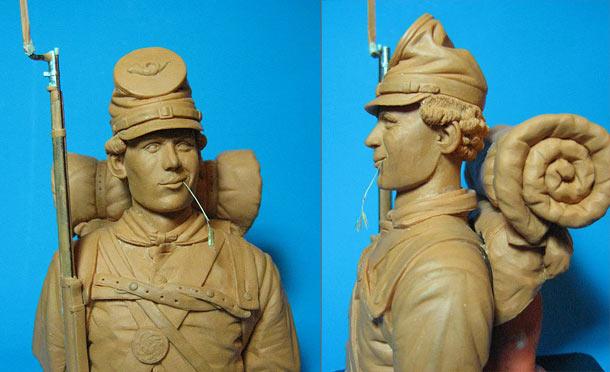 Скульптура: Солдат федеральной армии