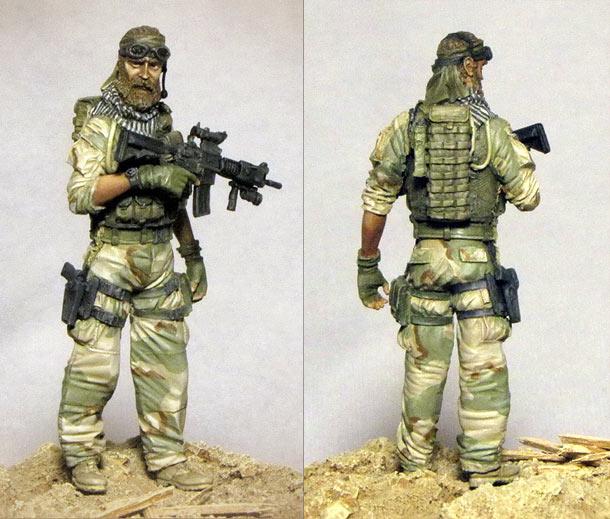 Фигурки: Американский спецназ в Афганистане