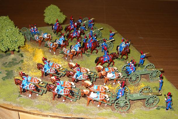 Учебка: Французская конная артиллерия, 1812 г.