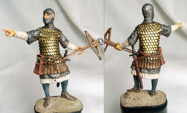 Учебка: Немецкий арбалетчик, начало XIV века