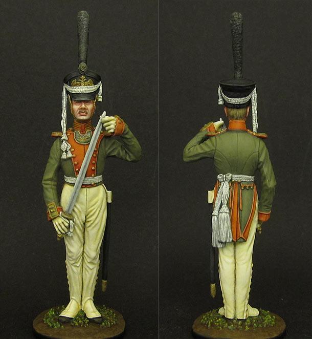 Фигурки: Младший офицер лейб-гвардии Литовского полка