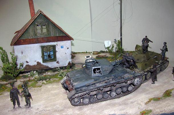 Диорамы и виньетки: Последний довод танкистов