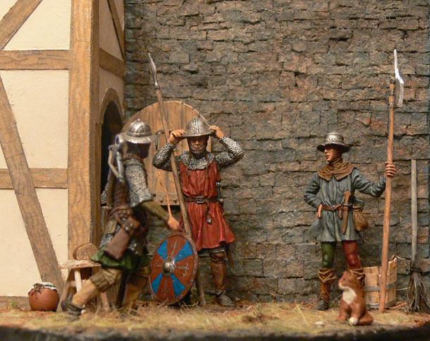 Диорамы и виньетки: Городская стража