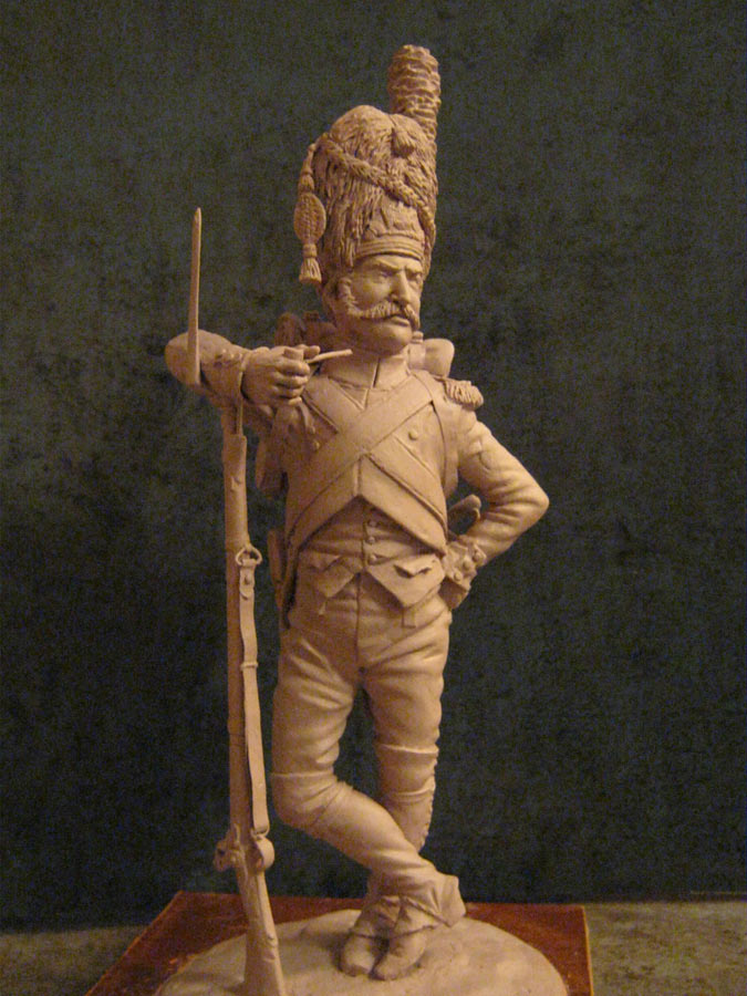 Скульптура:  Рядовой императорской гвардии Наполеона, фото #1