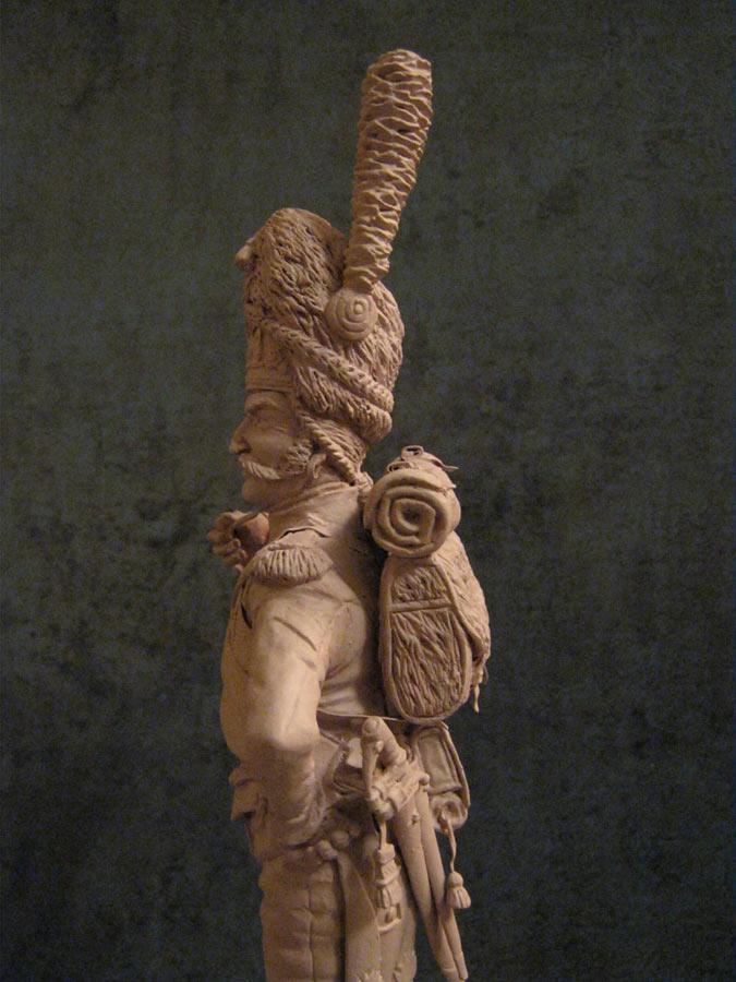 Скульптура:  Рядовой императорской гвардии Наполеона, фото #4