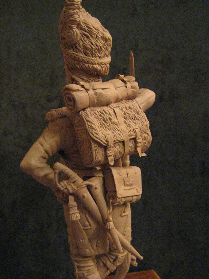 Скульптура:  Рядовой императорской гвардии Наполеона, фото #5