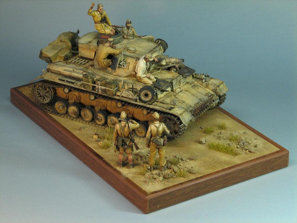 Диорамы и виньетки: Pz.IV Ausf.E в Африке, фото #1