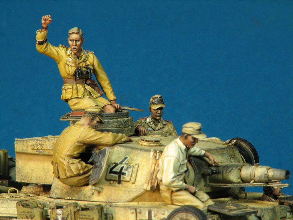 Диорамы и виньетки: Pz.IV Ausf.E в Африке, фото #14