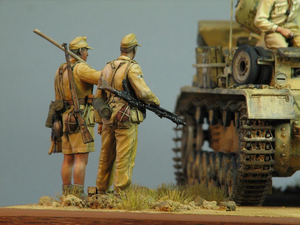 Диорамы и виньетки: Pz.IV Ausf.E в Африке, фото #15