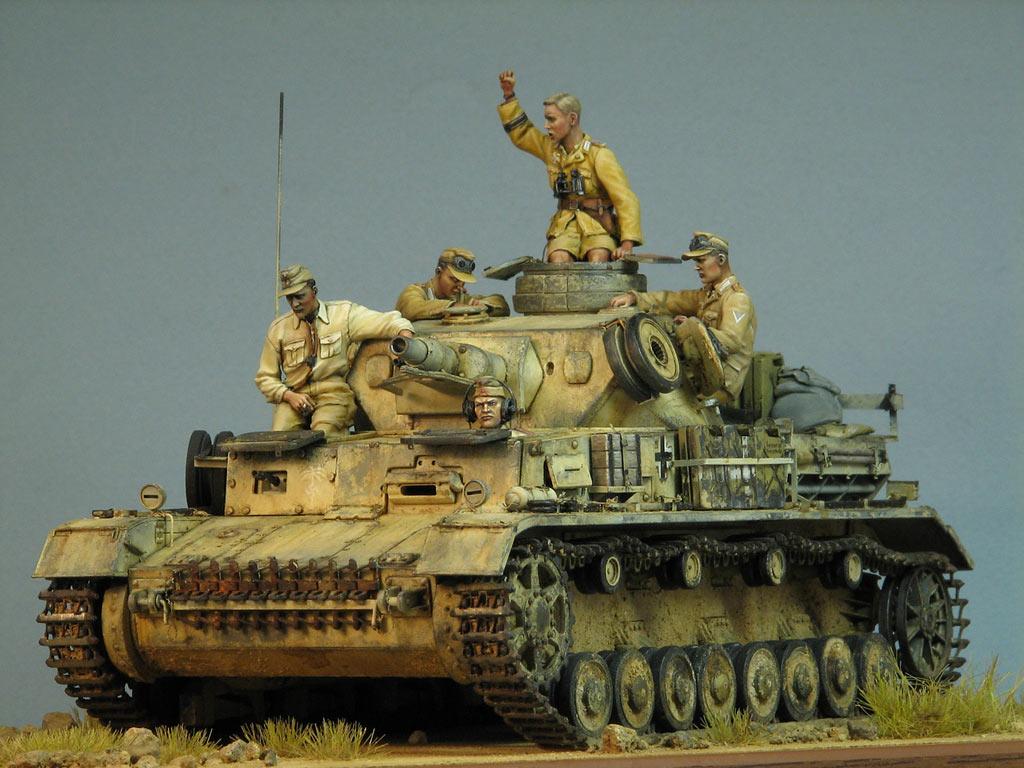Диорамы и виньетки: Pz.IV Ausf.E в Африке, фото #2