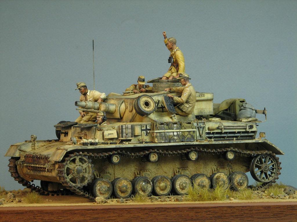 Диорамы и виньетки: Pz.IV Ausf.E в Африке, фото #3