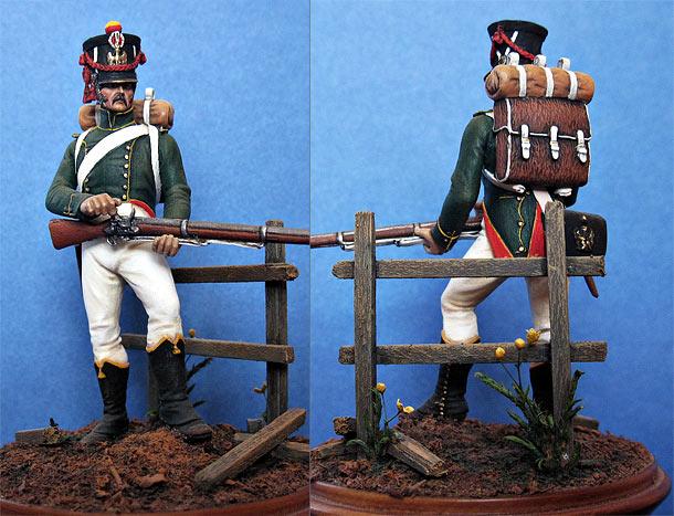 Фигурки: Фланкер-гренадёр Императорской гвардии