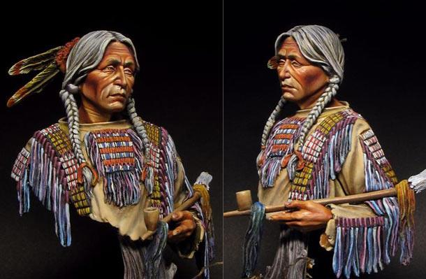 Фигурки: Индеец сиу