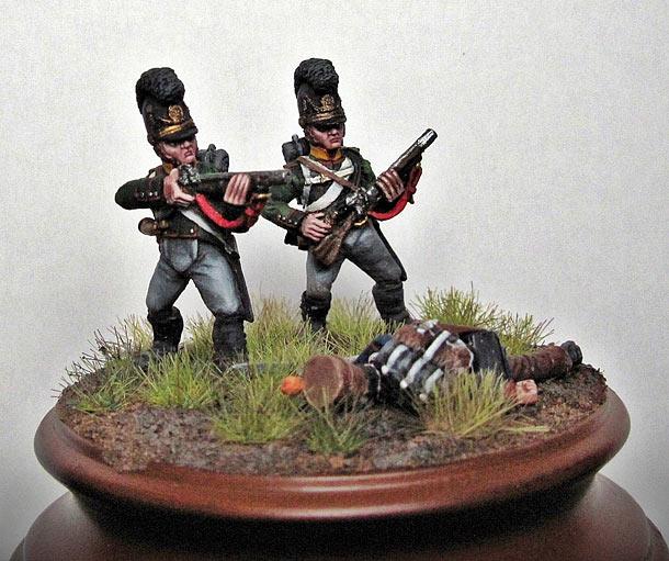 Фигурки: Баварские стрелки 5-го батальона лёгкой пехоты Бутлера