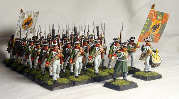 Фигурки: Симбирский пехотный полк. 1812-14
