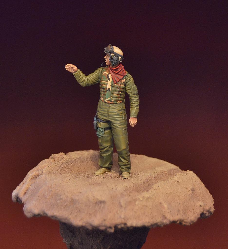 Фигурки: Американский танкист в Ираке, фото #3