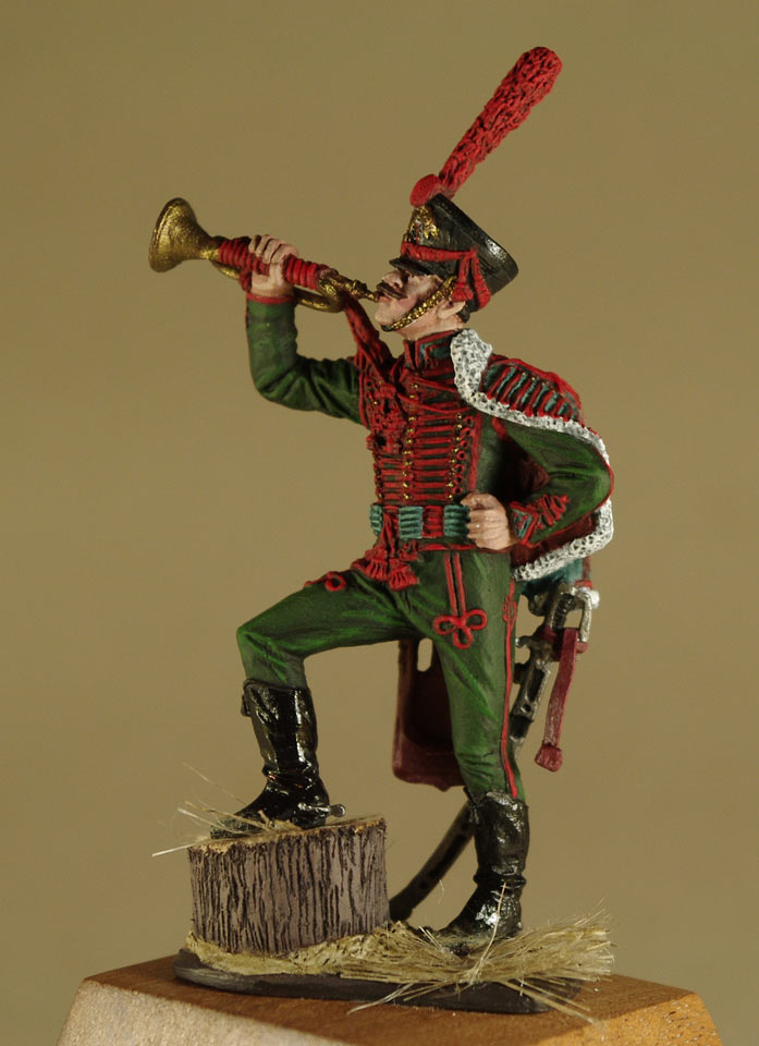 Фигурки: Труба трубит, откинут полог…, фото #4